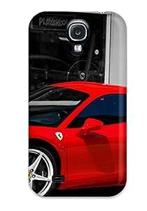Galaxy S4 Case Cover - Slim Fit Tpu Protector Shock Absorbent Case (ferrari58 Italia)