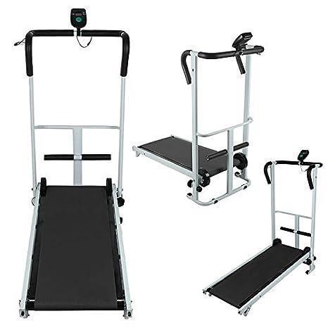 Vendeur Pro manual mini cinta de correr LCD Sit de UPS Fitness ...