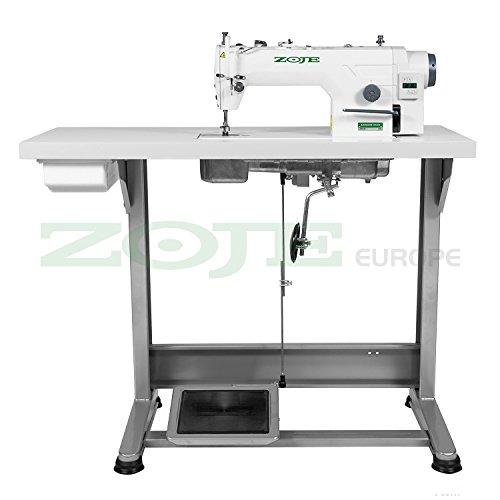 Top de Oferta: La Industria Máquina de coser zoje - para grosor de tejidos - Completo (con mesa y estructura) ¡NUEVO.: Amazon.es: Hogar