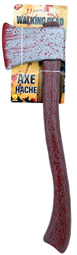 Costumes Tv Shows (The Walking Dead Tv Show Axe Costume Accessory, Multi, One Size)
