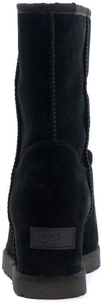 UGG Damen Classic Femme Short Stiefel, kastanienbraun Schwarz