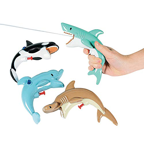 Sea Life Squirt Guns - Games & Activities & Water Toys(assorted pack of -