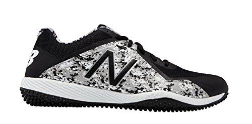 New Balance Men's T4040v4 Turf Baseball Shoe, Black Camo, 11.5 D US