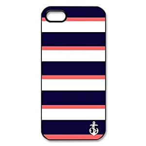 Custom Your Own protective Stirp Anchor Iphone 5 Cover Case, Personzlised Stirp Anchor Iphone 5 Cover by runtopwell