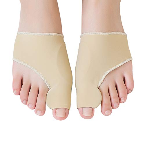 Bunion Corrector Big Toe Straightener Bunion Pain Relief Sleeves, 1 Pair Bunion...