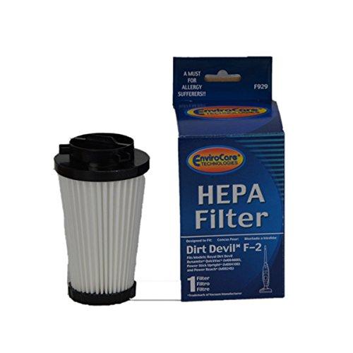 (Dirt Devil F2, Dynomite Bagless Vacuum Cleaner Hepa Cartridge Filter # 929, F929)