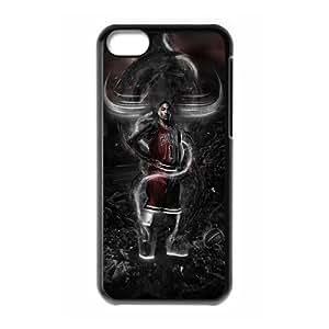 LJF phone case C-EUR Print Derrick Rose Pattern Hard Case for iphone 4/4s
