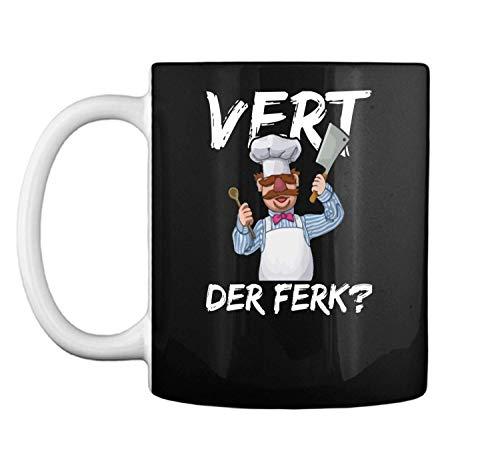 Vert Tee - Vert Der Ferk Chef Knife Tee Funny Gift Mug Coffee Mug (White, 11 oz)