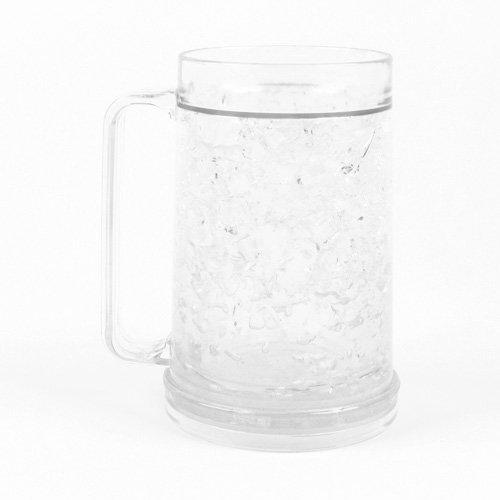 Freezer Mug - Double Wall -16oz. Capacity - Clear