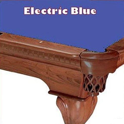 9' Electric Blue ProLine Classic 303 Billiard Pool Table Cloth (21 Oz Electric Blue Felt)