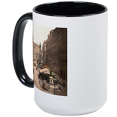 CafePress - Vintage Vienna Large Mug - Coffee Mug, Large 15 oz. White Coffee (Old Vienna Beer)