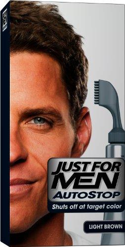 JUST FOR MEN Autostop Couleur des cheveux, brun clair Une trousse de demande