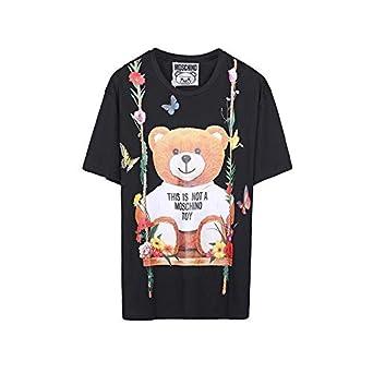 6729a52b Moschino Floral Bear T Shirt Women: Amazon.ae: Raistar