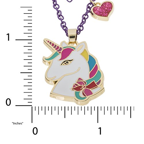 Jojo Siwa Unicorn With Heart Charm Pendant Necklace, 16''+3'' by Jojo Siwa (Image #2)
