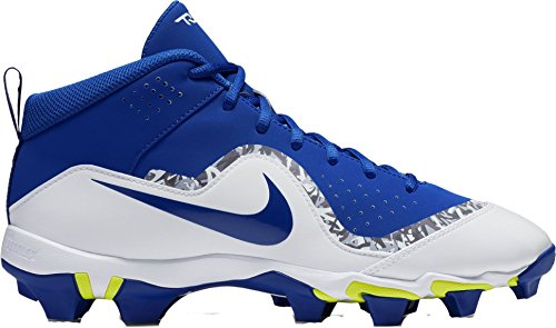 Nike Men's Force Trout 4 Keystone Baseball Cleats(Blue/White, 6.5 D(M) US)