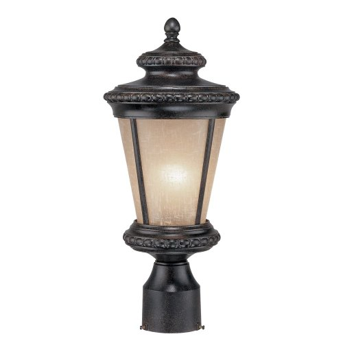 One Edgewood Light (Dolan Designs 9132-114 Edgewood 1 Light Post Light, Manchester)