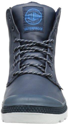 Palladium Pampa Sport Cuff WP - Náuticos de cuero unisex azul - Blau (Indigo/White)