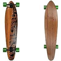 Jucker Hawaii - Cruiser Makaha - Longboard Pintail Bamboo en 6variantes