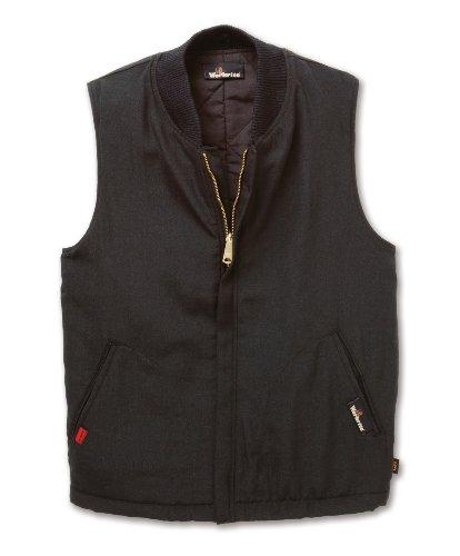 Workrite FR Flame Resistant 4.5 oz Nomex IIIA Insulated Vest/Liner, X-Large, Regular Length, Black ()