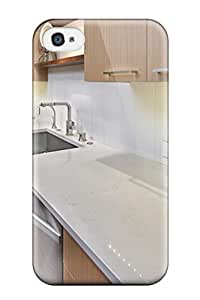 [RNDnVXM2028qMnYo] - New Marble-like Quartz Countertops In Contemporary Kitchen Protective Iphone 4/4s Classic Hardshell Case