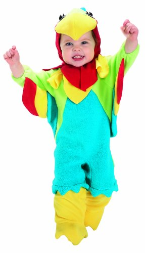 Rubie's Baby Parrot, Blue/Red/Green, 0-6 Months Costume