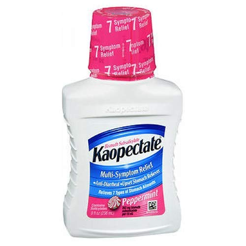 Kaopectate Liquid Peppermint 8 oz (Pack of 9) by Kaopectate
