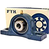 """Pillow Block Bearing P204 GBC Cast Iron Lot of 4 3//4/"""" bore bearings"""