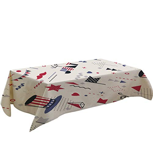 4th of July Tablecloths, Iuhan 55