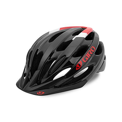Giro Revel Cycling Helmet Black/Bright Red Universal Adult (54-61 cm)