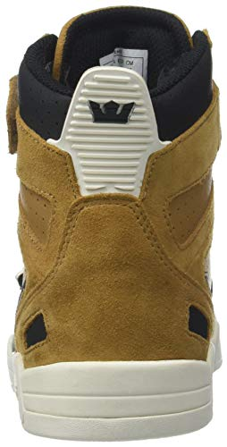 Collo Marrone 286 Supra a Tan bone Sneaker Black Breaker Uomo Alto Tnfg4