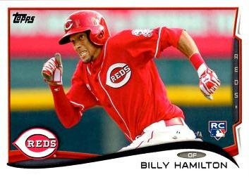 2014 Topps Baseball #36 Billy Hamilton Rookie Card - His 1st official Rookie Card! (Hamilton Rookie Card)