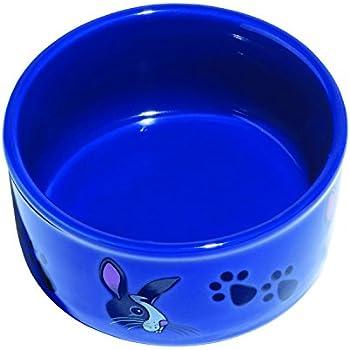 Kaytee Paw-Print PetWare Bowl, Bunny, Colors Vary