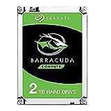 Seagate BarraCuda 2TB Internal Hard Drive HDD-3.5 Inch SATA 6Gb/s 7200 RPM 256MB Cache 3.5-Inch-Frustration Free Packaging (ST2000DM008)