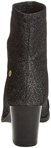 XTI Women's 030516 Ankle Boots, Black Silver (Plomo Plomo)