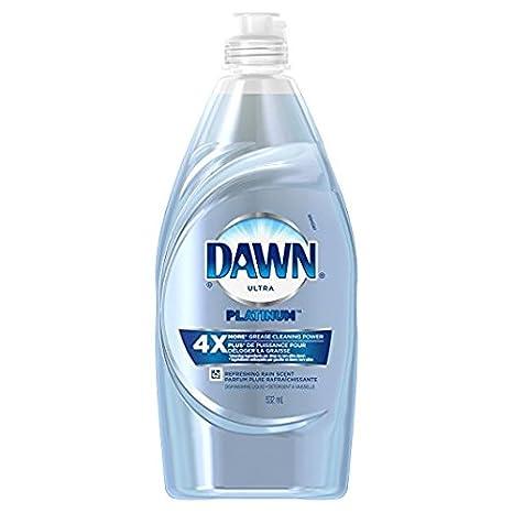 3 unidades. Dawn Platinum Power Clean - Jabón líquido para ...