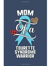 Mom Of A Tourette Syndrome Warrior: Journal Tourette Syndrome Awareness Leopard Buffalo Plaid Family Gift