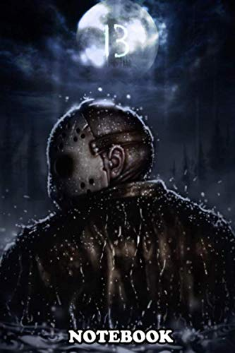 Notebook: Jason Voorhees , Journal for Writing, College Ruled Size 6