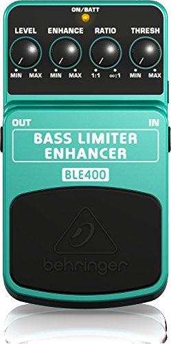 Behringer Bass Limiter Enhancer BLE400 Ultimate Dynamics Effects Pedal