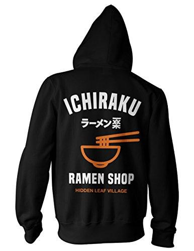 Ripple Junction Naruto Shippuden Ichiraku Ramen Adult Unisex Zip-Up Hoodie