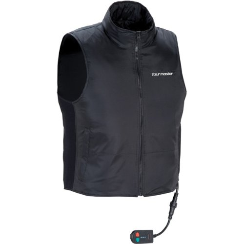 (TourMaster Synergy 2.0 Electric Vest Liner with Collar (Large, Black))