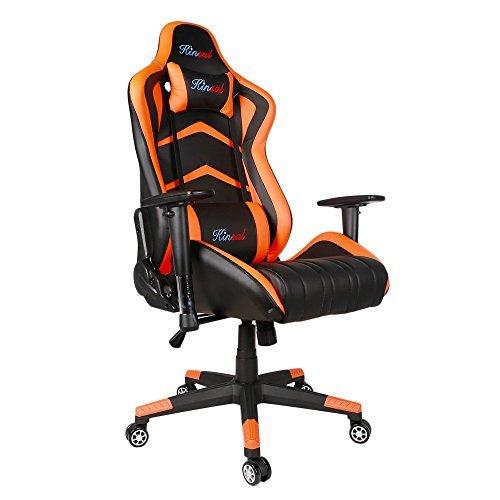 39 opinioni per [Promovendo Una Versione Grande e Alta] Kinsal Gaming Racing Chair Computer