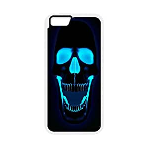 Quotes protective Phone Case skull For iPhone 6,6S Plus 5.5 Inch NP4K03060