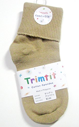 Trimfit Infant/Toddler Single Cuff Comfortoe Socks