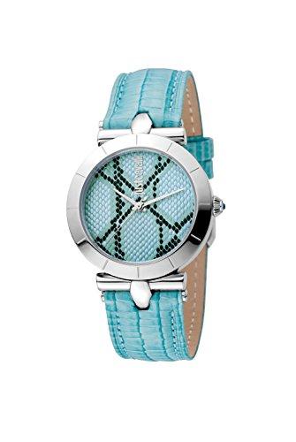Just Cavalli ANIMAL Devore Women's Silver Watch ()