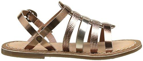 Kickers Mädchen Dixmillion Peep-Toe Marron (Bronze)