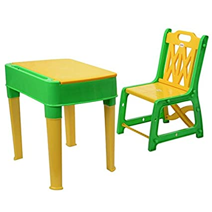 My baby Choice Junior\u0027s Study Table Set - Green And Yellow (study table chair  sc 1 st  Amazon.in & My baby Choice Junior\u0027s Study Table Set - Green And Yellow (study ...