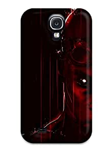 Best 6527127K38374467 Galaxy S4 Hard Back With Bumper Silicone Gel Tpu Case Cover Vin Diesel's Riddick 2013
