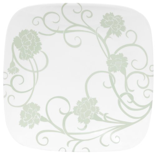 Corelle Square 10-1/4-Inch Dinner Plate, Eloquence
