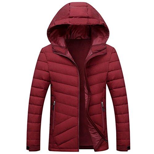 Di Di Inverno Hhy All'aperto Xxxl Rosso Ricreative Moda Uomini breve Coltivazione Degli In Sé Piumino aaHwRxYqz