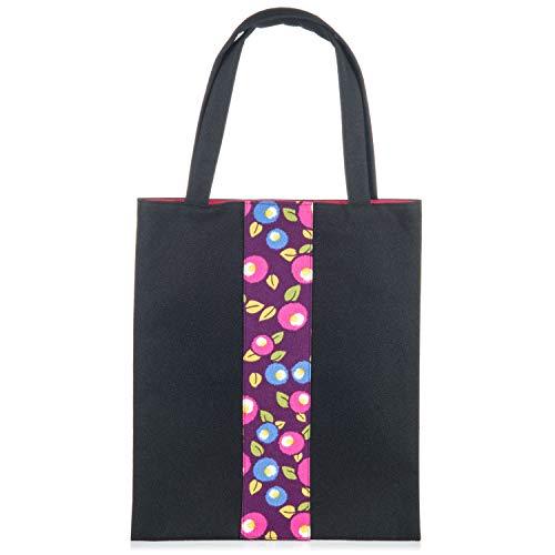 The mujer Bolso única hombro talla Japanese para al Negro de Sintético Negro Shop gqpR6rwcg